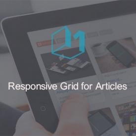 نمایش ریسپانسیو محتوای جوملا با Responsive Grid for Articles