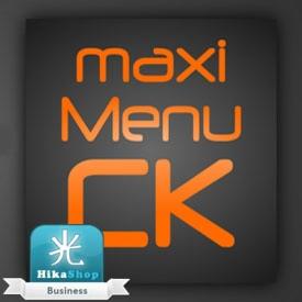 نمایش مجموعه هایفروشگاه هیکاشاپ با Maximenu Hikashop Patch