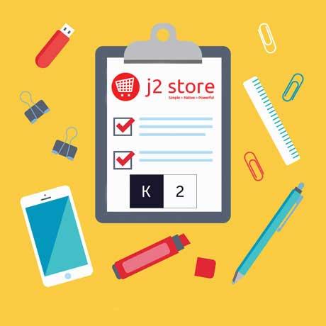 استفاده از مطالب K2 به عنوان محصول در فروشگاه ساز J2store
